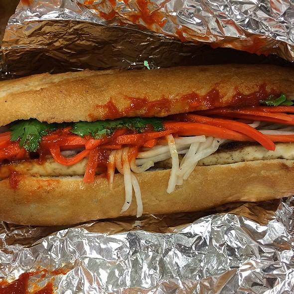 Tofu Veggie Banh Mi