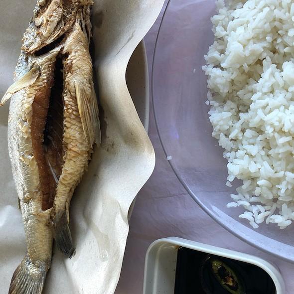 Deep Fried Siakap Fish