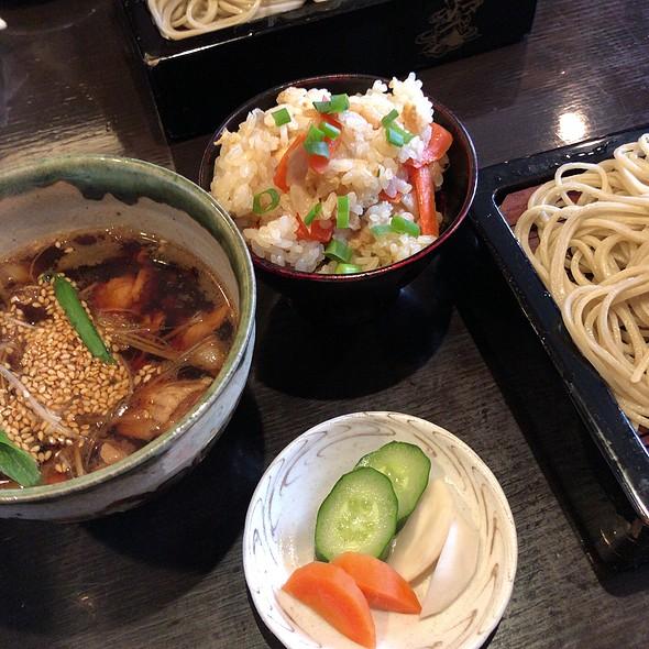 Pork Tsuke Soba