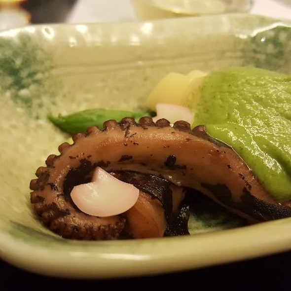 Octopus And Bamboo Shoots