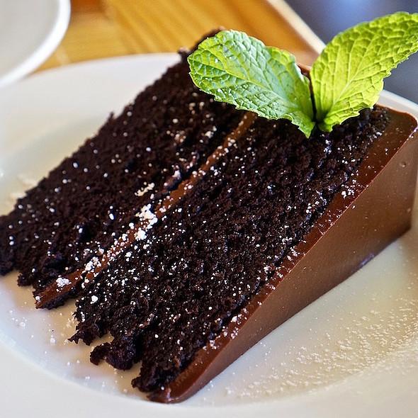 Chocolate Cake @ Flora's Field Kitchen