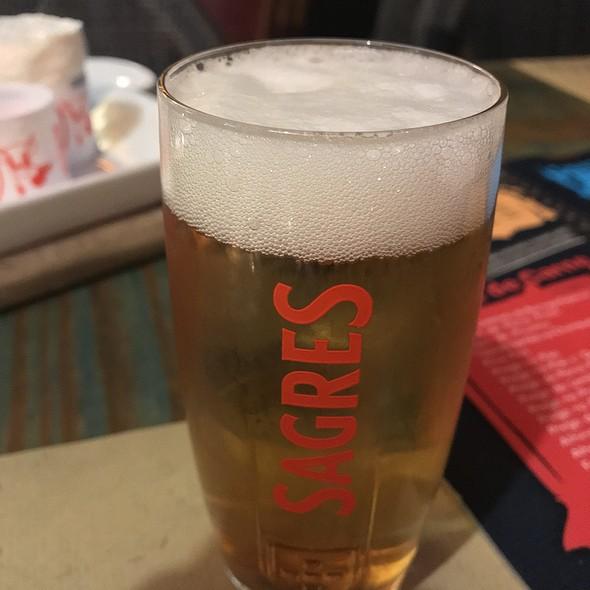 Sagres Beer @ Tik Tapas