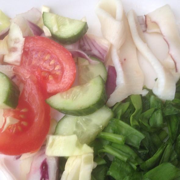 Salad with Squid @ Apartment