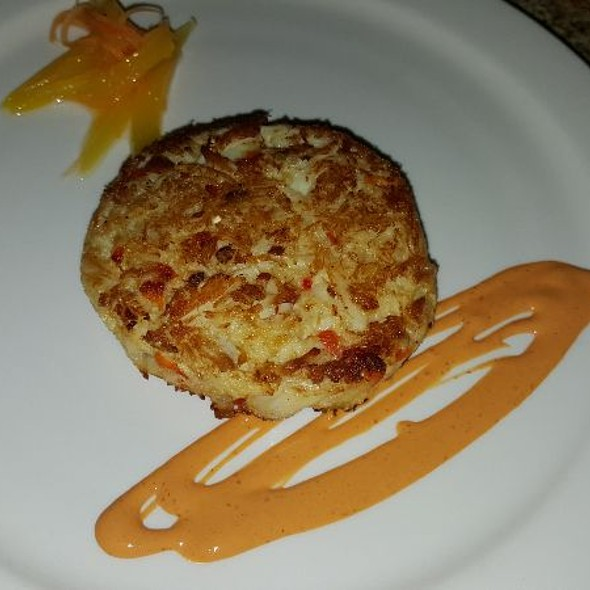crab cake @ Lucio's BYOB and Grille