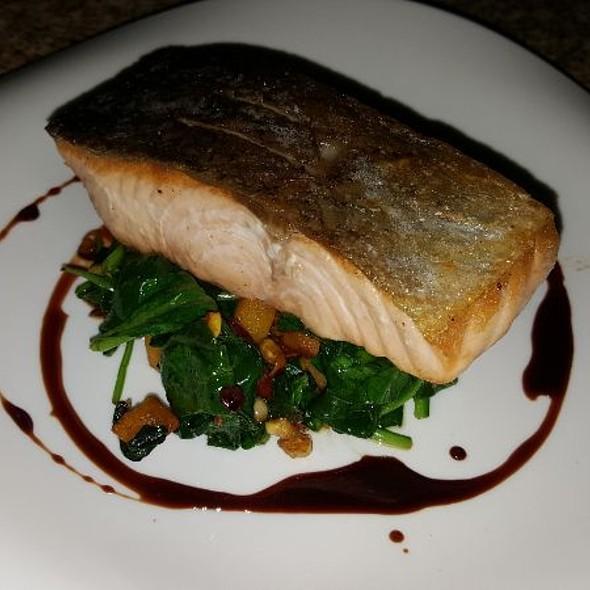 Atlantic Salmon @ Lucio's BYOB and Grille