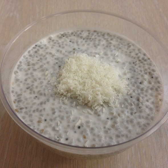 Chia Seeds with Coconut Milk  @ Kushavel'