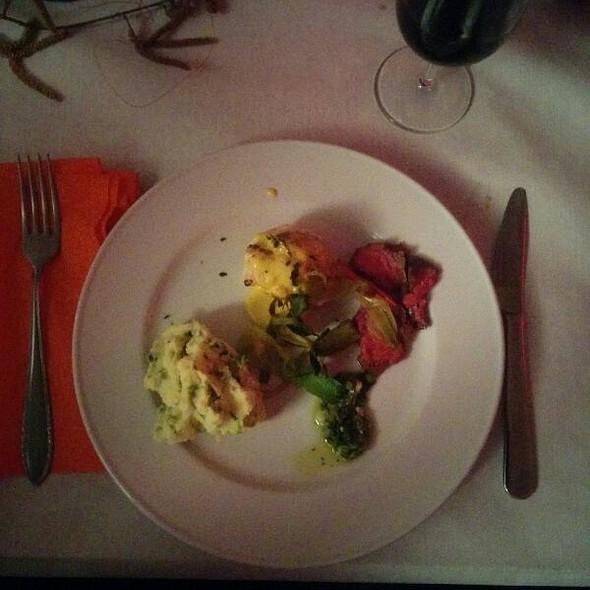 Kartoffelstock mit Fleisch