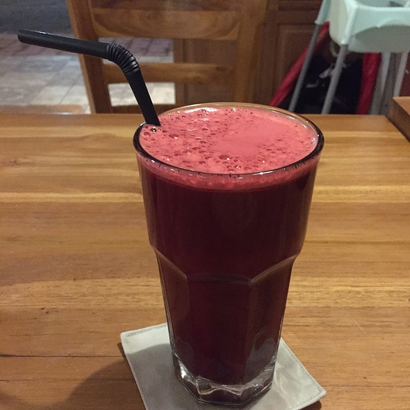 Beetroot Carrot Ginger @ Taco Casa And Grill