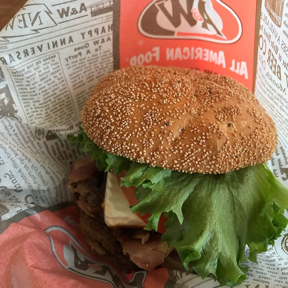 The A&W Burger