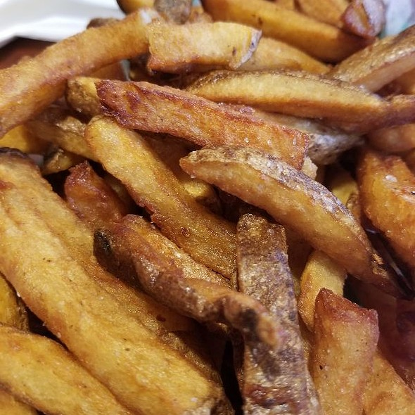 Truffle Fries Cooked In Duck Fat