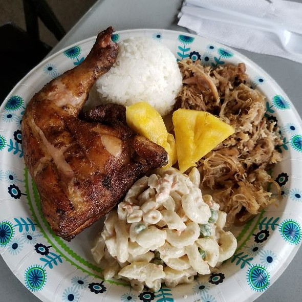 Hulihuli Chicken And Kalua Pig