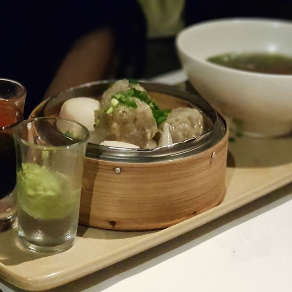 Dumplings In Savoury Broth