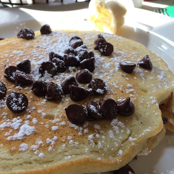 Chocolate Chip Pancakes @ Barb's Corner Kitchen