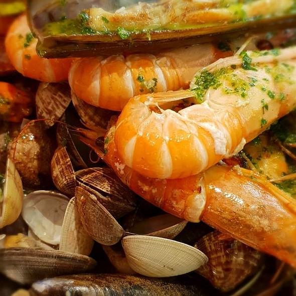 mariscada @ Restaurante A' PALLOZA