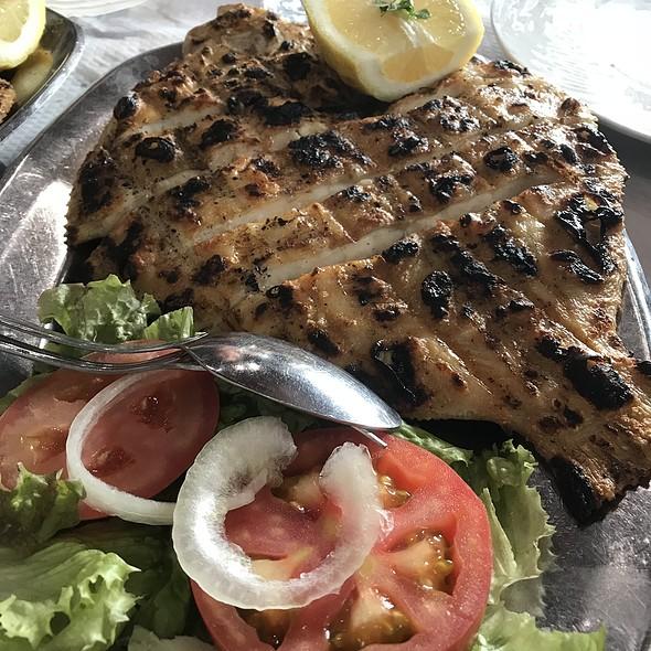 Grilled Turbot @ Restaurante Mar De Areia