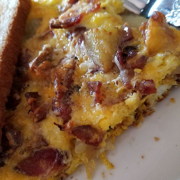 bacon potato cheese egg frittata