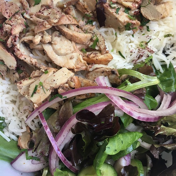 Chicken Shwarma Plate