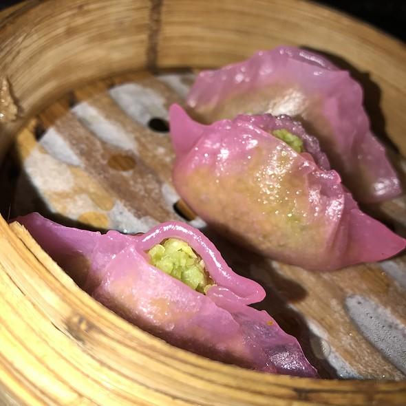 松露毛豆饺 Truffle Bean Dumplings