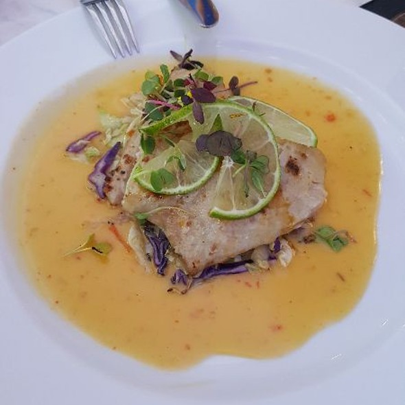 Grilled Grouper @ Blue Onyx