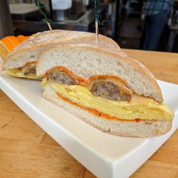 The Monroe Breakfast Sandwich