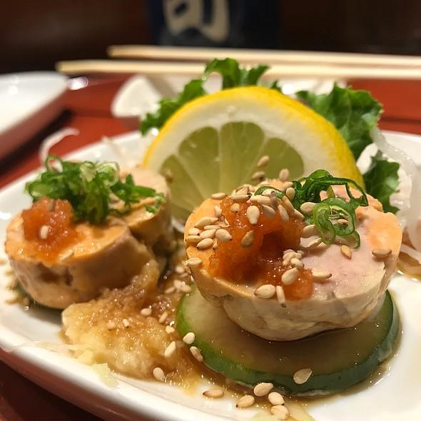 ankimo @ Blue Fin Sushi Bar
