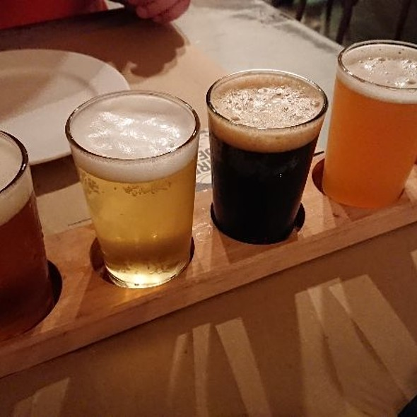 Set Of Local Craft Beers