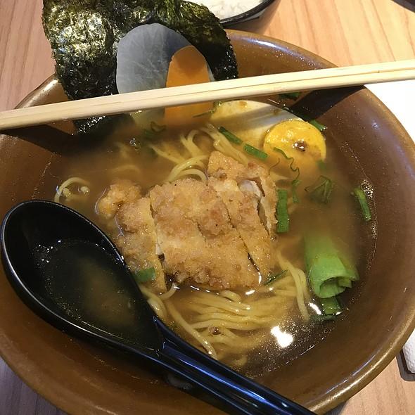 Curry Chicken Katsu Ramen