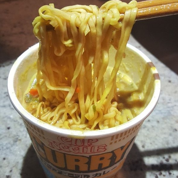 Curry Cup Noodle
