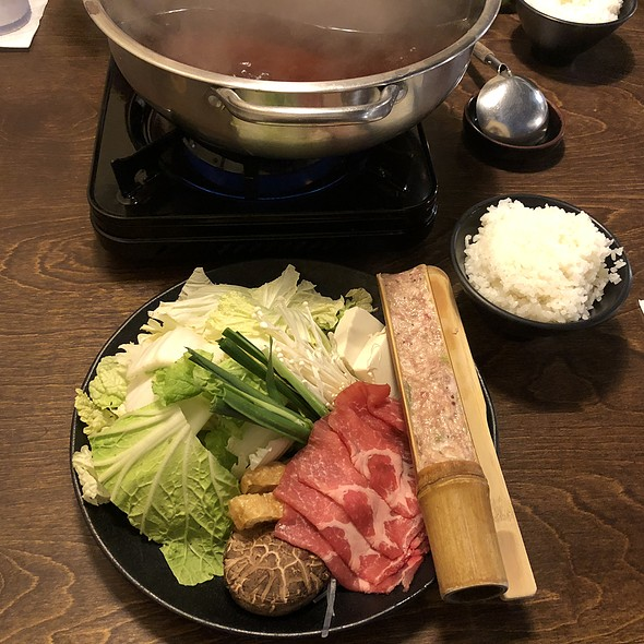 BERKSHIRE PORK CHANKO NABE