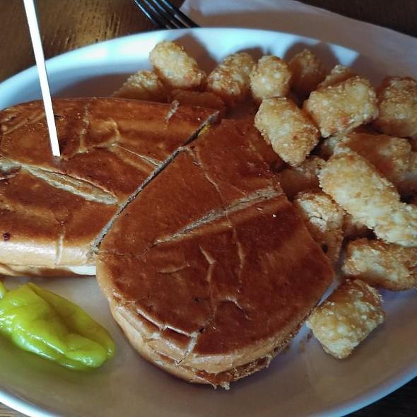 Cubano Sandwich With Hemp Patty
