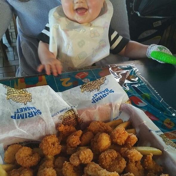 Popcorn shrimp @ The Shrimp Basket