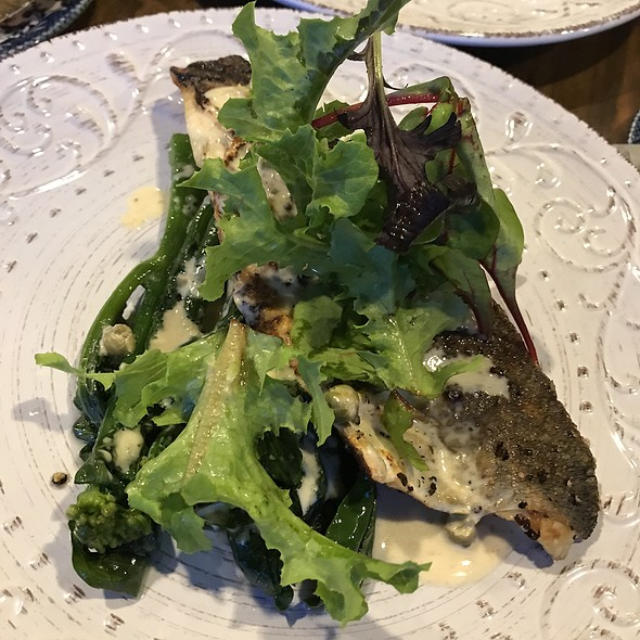 Grilled Mediterranean Seabass @ Firebake - Woodfired Bakehouse & Restaurant