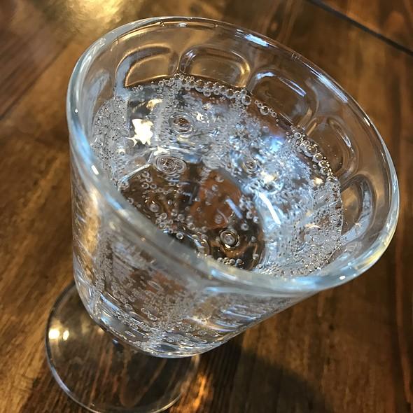 Sparkling Water @ Firebake - Woodfired Bakehouse & Restaurant