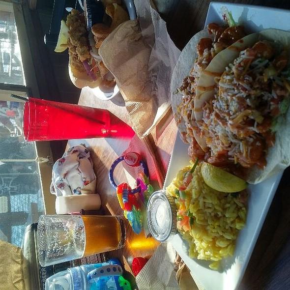 Bangin' Shrimp Taco @ Original Waterfront Crab Shack