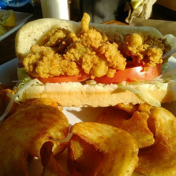Oyster PoBoy @ Original Waterfront Crab Shack