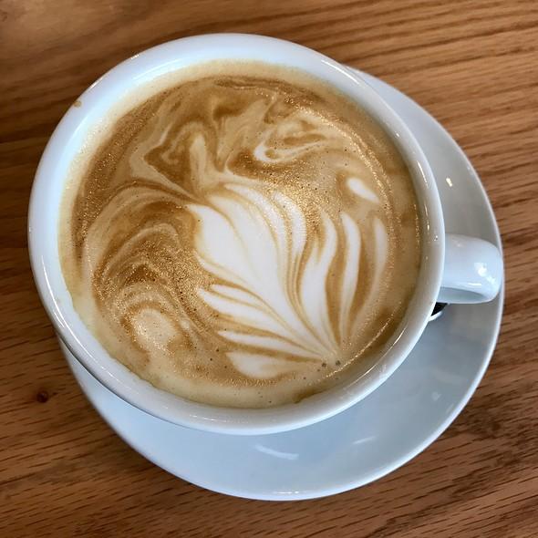 VANILLA FLAT WHITE  @ COSTA COFFEE