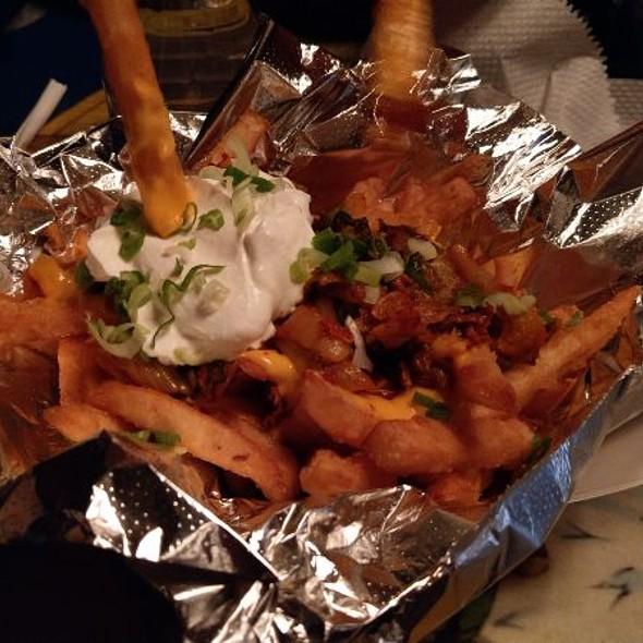 Kimchi Cheesy Fries