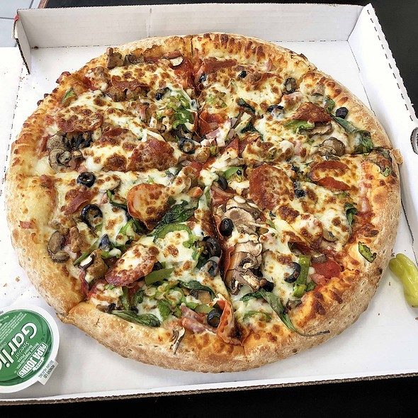 "Large ""The Works"" Pizza"