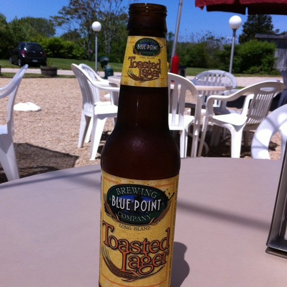 Blue Point Toasted Lager @ The Clam Bar
