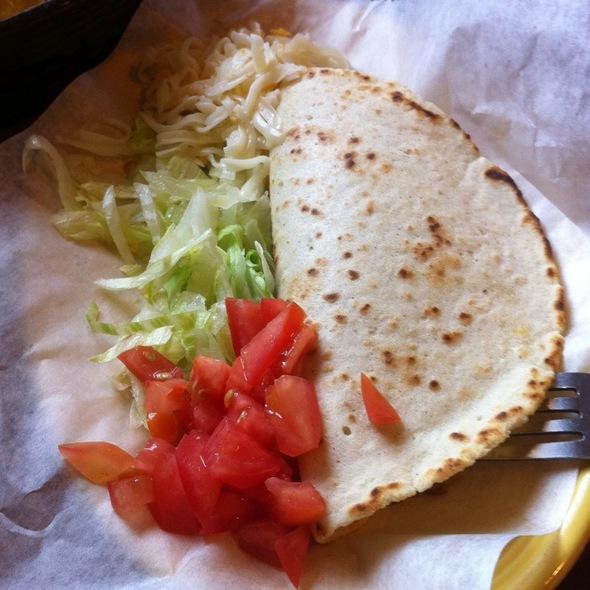 Beef Soft Taco @ Taqueria El Mexicano Grill