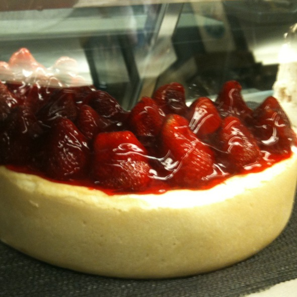 Strawberry Cheesecake @ Kenny & Ziggy's Deli
