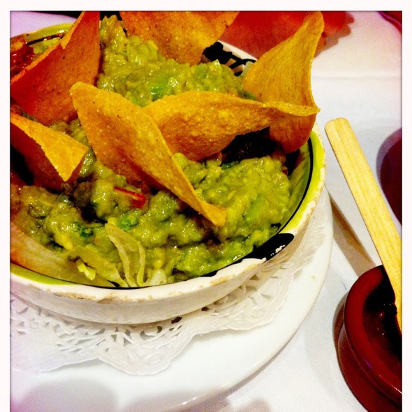 Guacamole and Chips @ Anahuacalli
