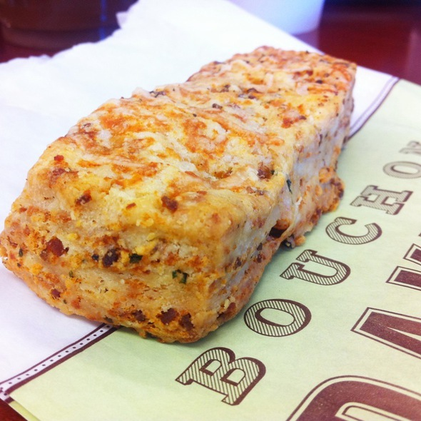 Bacon And Cheddar Scone @ Bouchon Bakery
