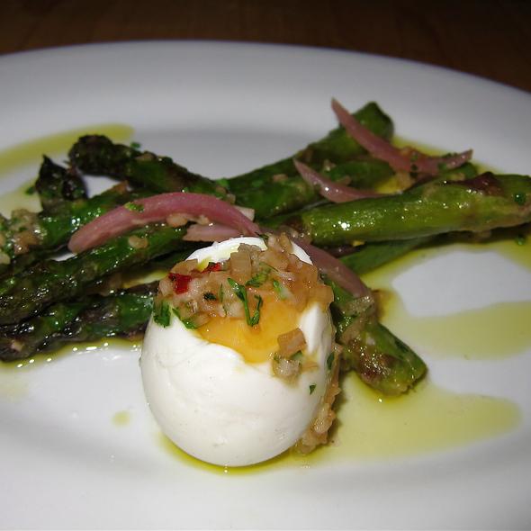 Wood Roasted Aspargus - cured farm egg - The Kitchen | Boulder, Boulder, CO