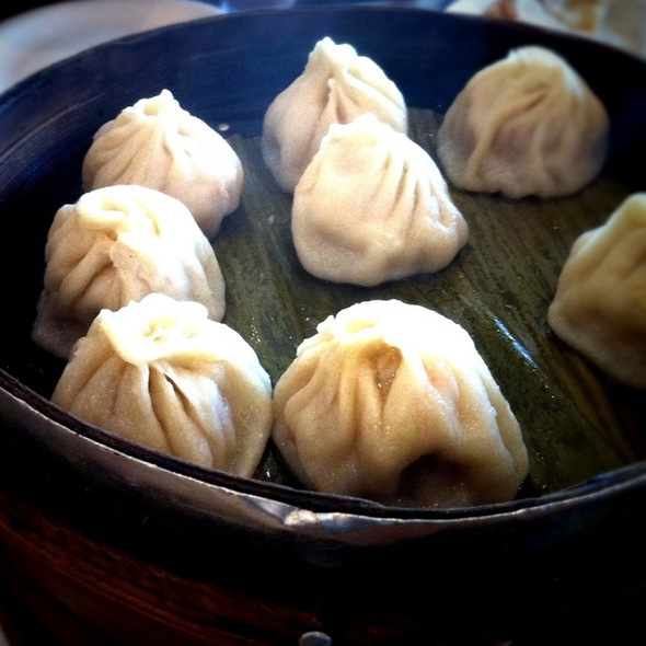 Small Juicy Steamed Dumplings @ Jeng Chi Restaurant