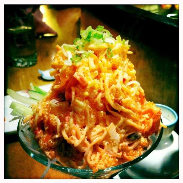 Spicy Seafood Salad - FuGaKyu Japanese Cuisine, Brookline, MA