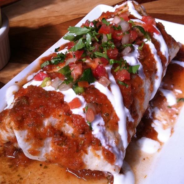 Big Breakfast Burrito - Peso's, Seattle, WA