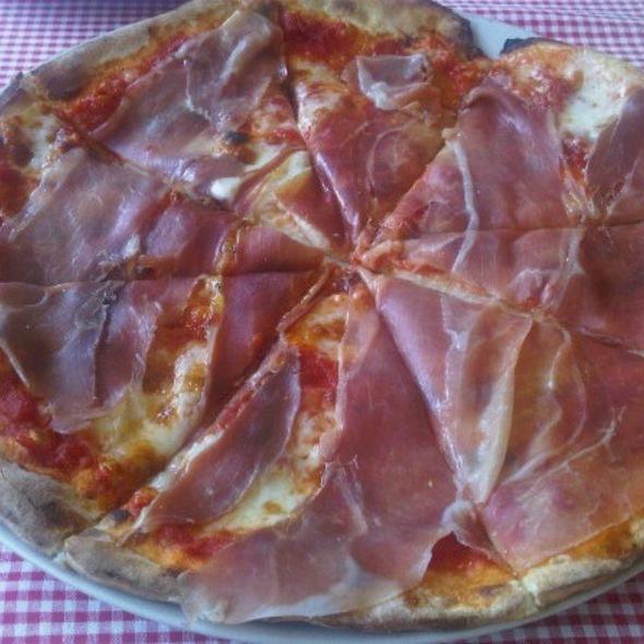 Parma Ham Pizza @ Scoozi
