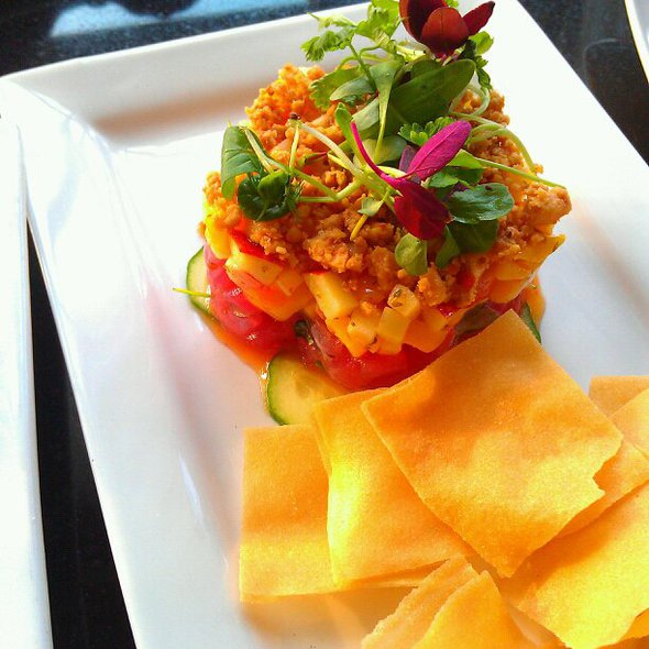Tuna Tartare @ Crave Lounge