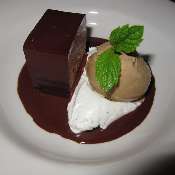 Valrhona Dark Chocolate Torte  - Delphine - W Hotel Hollywood, Hollywood, CA